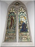 TL8530 : St Andrew, Colne Engaine: stained glass window (a) by Basher Eyre