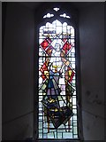 TL8530 : St Andrew, Colne Engaine: stained glass window (e) by Basher Eyre