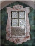 TL8530 : St Andrew, Colne Engaine: memorial (c) by Basher Eyre