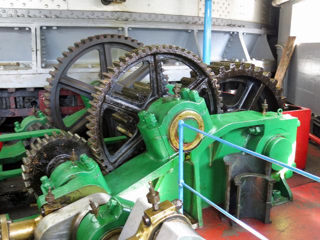 The Swing Bridge - engine room (detail) (2)