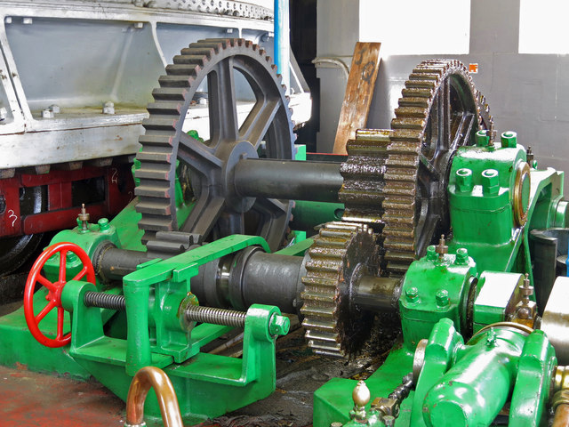 The Swing Bridge - engine room (detail) (3)