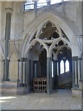 ST5545 : Wells Cathedral [10] by Michael Dibb