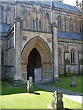 ST5545 : Wells Cathedral [20] by Michael Dibb
