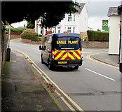 ST3090 : Eagle Plant van, Pillmawr Road, Malpas, Newport by Jaggery