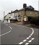 ST3090 : Recently reroofed house, Pillmawr Road, Malpas, Newport by Jaggery
