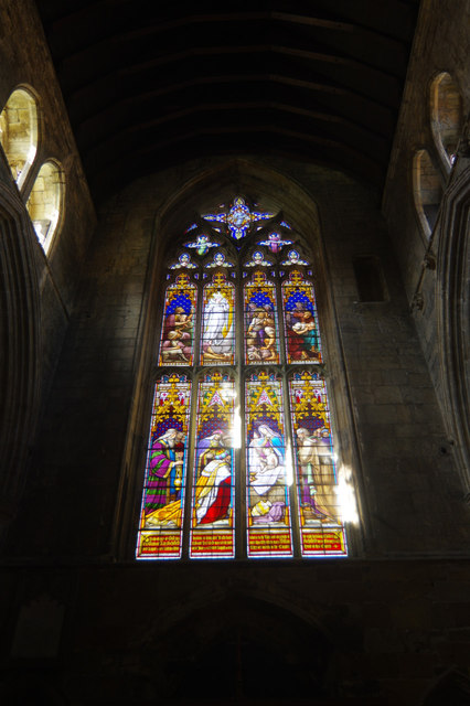 Great west window, Howden Minster
