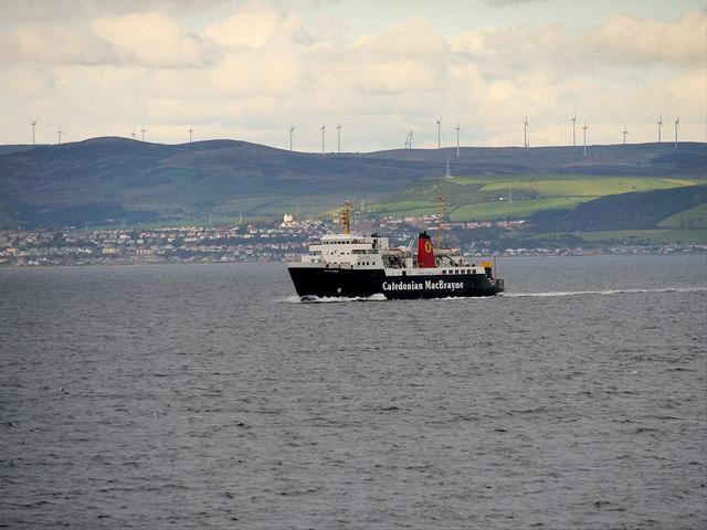 The Isle of Arran Ferry