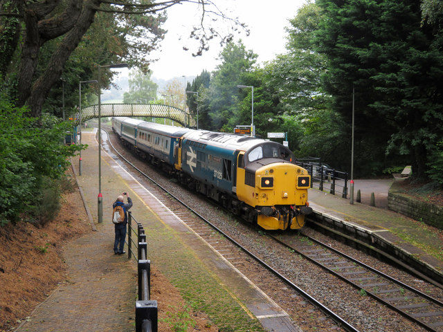Class 37 at Hengoed