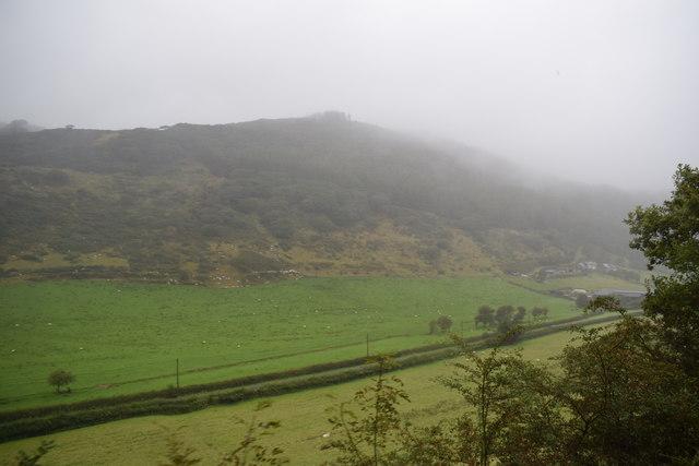 View from Quarry Sidings Halt