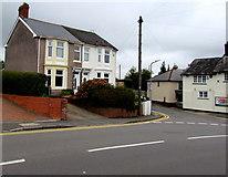 ST3090 : Pillmawr Road semis near the Three Horseshoes, Malpas, Newport by Jaggery