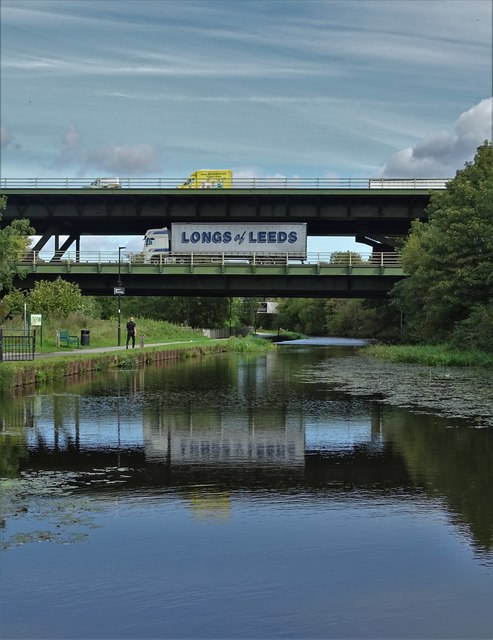 Tinsley Viaduct and the Sheffield & Tinsley Canal