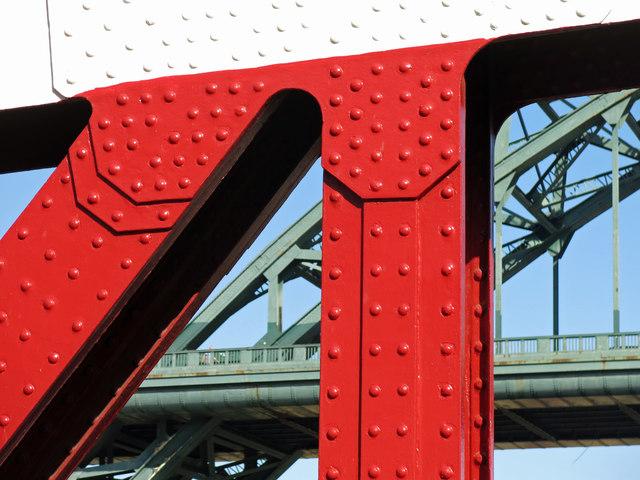 The Swing Bridge and the Tyne Bridge