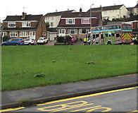 ST3090 : Recycling lorry, Alder Grove, Malpas, Newport by Jaggery