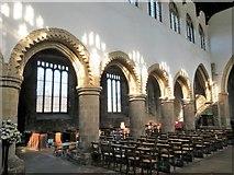 TA0322 : St Mary's Church nave by Gordon Hatton