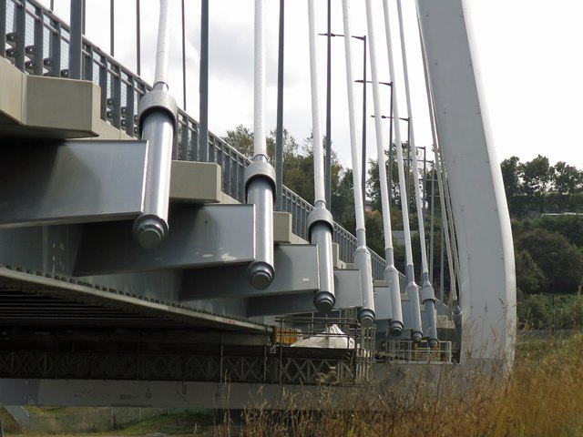 The Northern Spire Bridge - cable stays