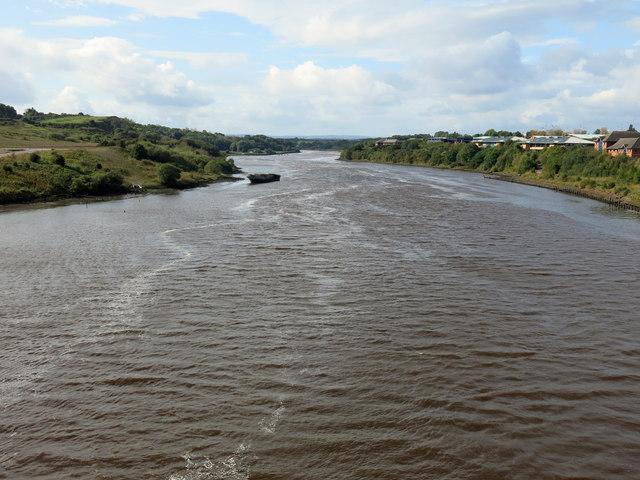 The River Wear upstream of the Northern Spire Bridge (2)