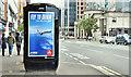 J3373 : Emirates advertisement, Belfast (September 2019) by Albert Bridge