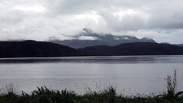 A view across the Kyle of Tongue