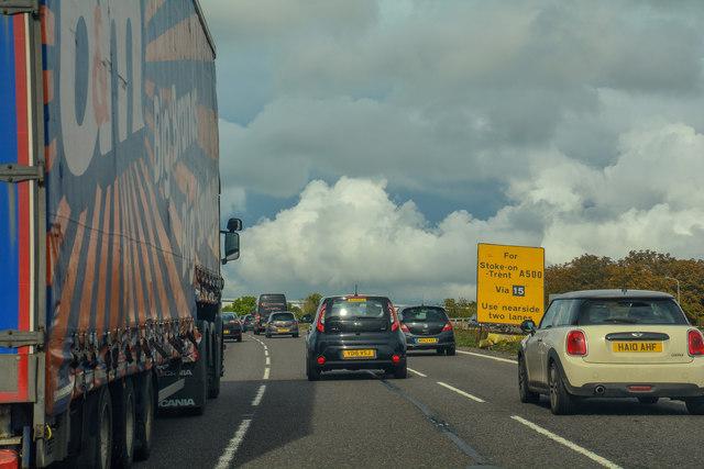 Creswell : M6 Motorway