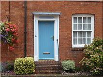 SP0957 : Door in Malt Mill Lane by Rod Allday