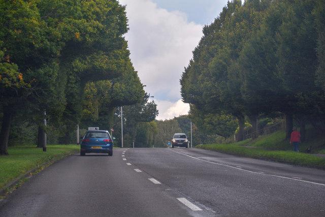 Newcastle-Under-Lyme : Clayton Road A519