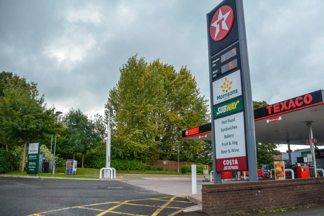 Newcastle-Under-Lyme : Texaco