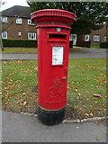 SP4641 : George VI postbox on Middleton Road, Banbury by JThomas