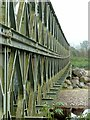 NJ0259 : Bailey Bridge at Broom of Moy – 2 by Alan Murray-Rust
