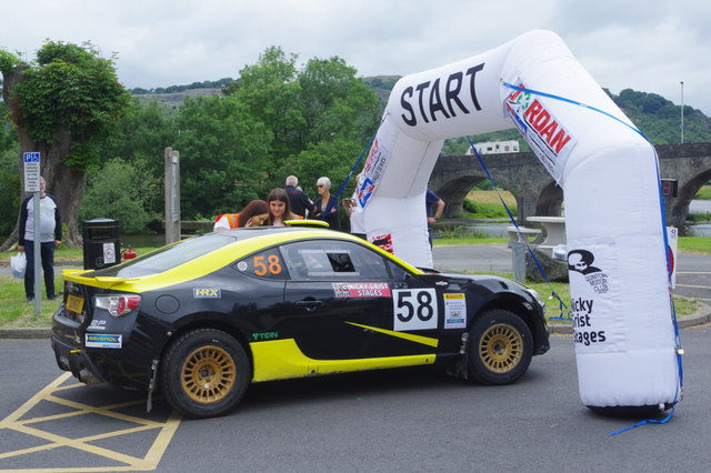 Nicky Grist Stages - the starting line