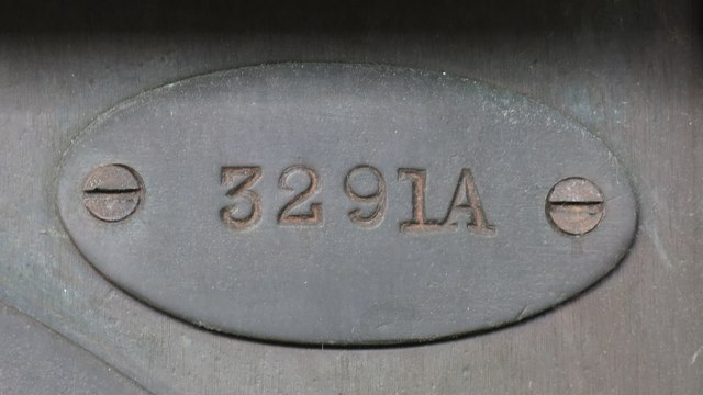 Weighing machine on Uxbridge tube station - detail (3)