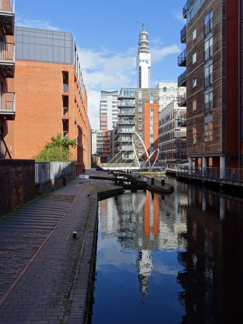 The Birmingham and Fazeley Canal
