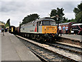 """SP0229 : Class 47 """"Freightliner"""" at Winchcombe Station by David Dixon"""