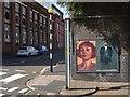 SP0687 : Posters under a railway bridge by Philip Halling
