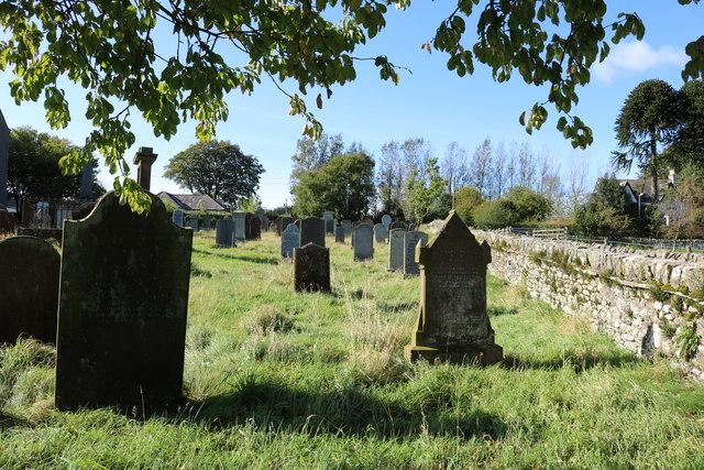 Kirkpatrick Durham Church Graveyard