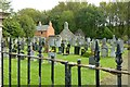 NJ5061 : Churchyard at Kirktown of Deskford by Alan Murray-Rust