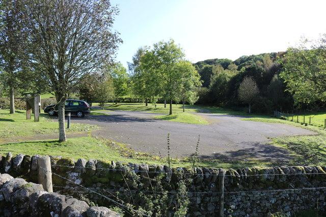 Kirkpatrick Irongray Church Car Park