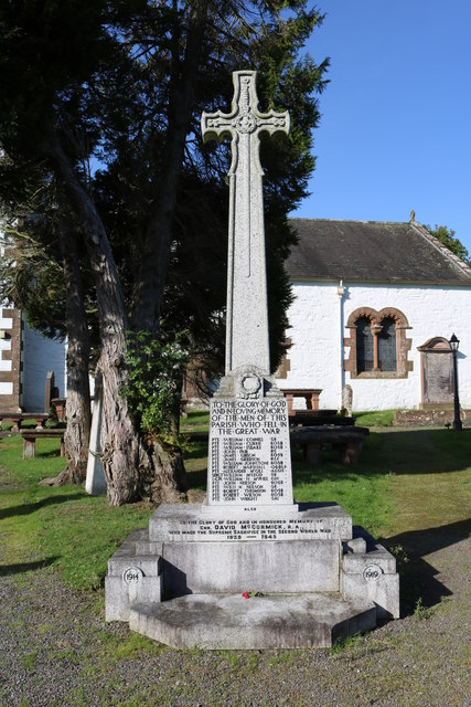 War Memorial, Irongray