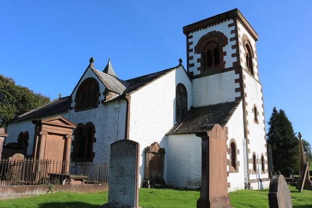 Kirkpatrick Irongray Church and Graveyard
