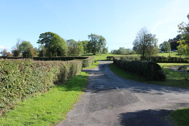 Exit Road from Kirkpatrick Irongray Church
