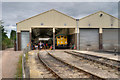 SP0432 : Gloucestershire Warwickshire Railway Diesel Shed at Toddington by David Dixon