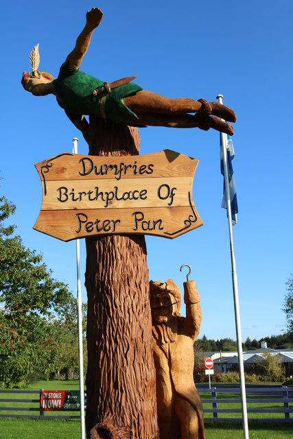 Peter Pan and Captain Hook, Dumfries