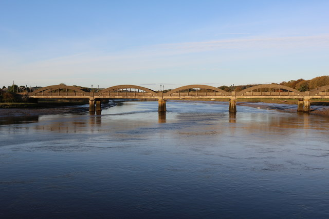 Road Bridge over the River Dee at Kirkcudbright
