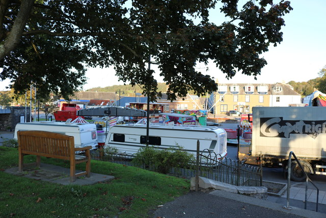 Fairground, Kirkcudbright