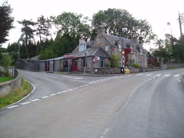 Croy village shop by Douglas Nelson