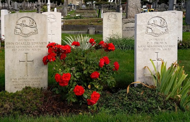 Wandsworth : Commonwealth War Graves Commission site