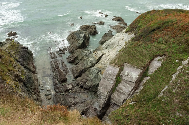 Inlet near Fernycombe Point