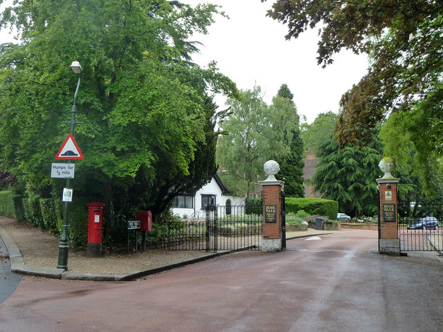 The gates to Rose Walk