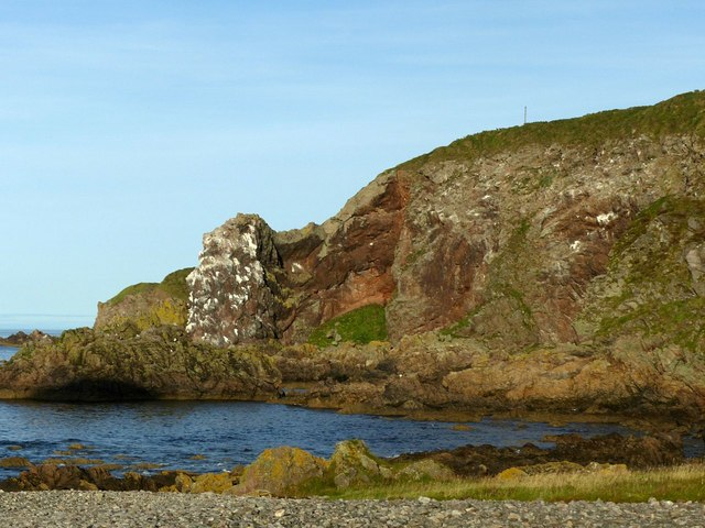 Nesting rock, Horse Head near Findochty