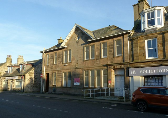 The old post office, Buckie