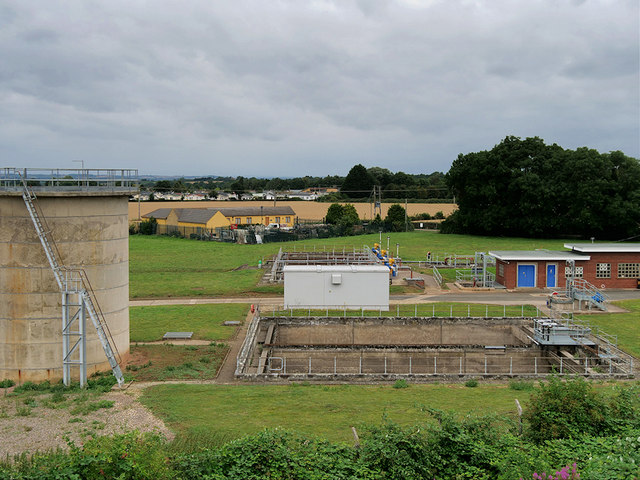Severn Trent Waste Treatment Plant at Broadway
